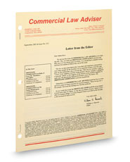Commercial Law Adviser