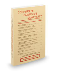 Corporate Counsel's Quarterly