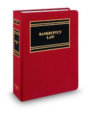 Corporate Counsel's Guide to Bankruptcy Law