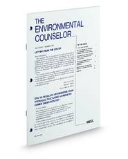 The Environmental Counselor