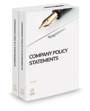 Company Policy Statements, 2020-2021 ed.