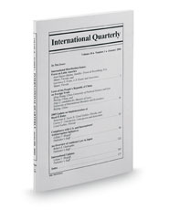 International Quarterly