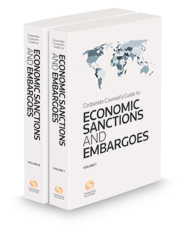 Corporate Counsel's Guide to Economic Sanctions and Embargoes, 2021 ed.