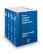West's Code of Federal Regulations General Index, 2018 ed.