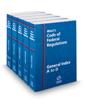 West's Code of Federal Regulations General Index, 2021 ed.