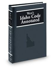 West's® Idaho Code Annotated