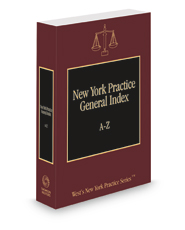 General Index, 2020-2021 ed. (New York Practice Series)
