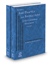 Federal Jury Practice and Instructions--Civil Companion Handbook, 2016-2017 ed.
