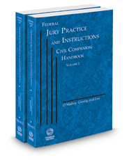 Federal Jury Practice and Instructions--Civil Companion Handbook, 2017-2018 ed.
