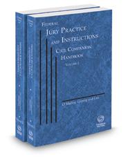 Federal Jury Practice and Instructions--Civil Companion Handbook, 2020-2021 ed.