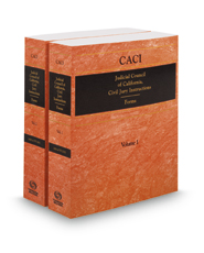 California Jury Instructions—Civil (CACI) Forms