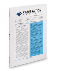 Class Action Reports