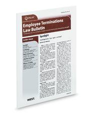 Employee Terminations Law Bulletin