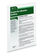 Grants for Libraries Hotline