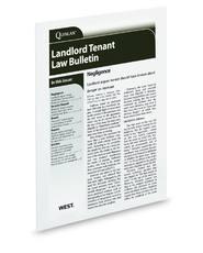 Landlord Tenant Law Bulletin
