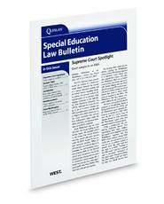 Special Education Law Bulletin