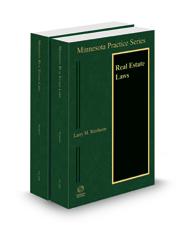 Minnesota Real Estate Laws, 2020-2021 ed. (Vol. 25A & 25B, Minnesota Practice Series)