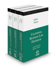 California Business Law Deskbook, 2016-2017 ed.