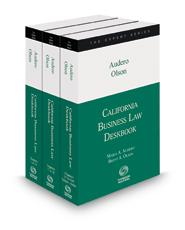 California Business Law Deskbook, 2020-2021 ed.