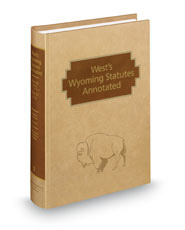 West's® Wyoming Statutes Annotated
