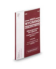 Wyoming Legislative Services