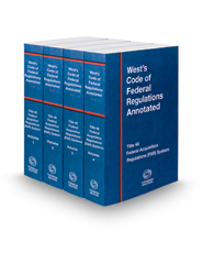 West's Code of Federal Regulations Annotated Title 48 Federal Acquisition Regulations System, 2016 ed.