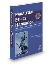 The Paralegal Ethics Handbook, 2016 ed.