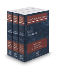 West's® Business Series State Securities Blue Sky Statutes Annotated, 2017 ed.