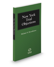 New York Trial Objections, 2017 ed.