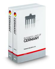 Business Laws of Germany, 2012 ed.