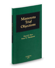 Minnesota Trial Objections, 2008 ed.