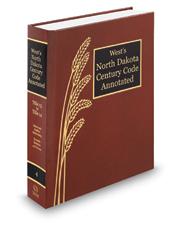 West's North Dakota Century Code Annotated