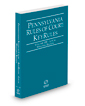 Pennsylvania Rules of Court - Local Western KeyRules, 2020 ed. (Vol. IIIF, Pennsylvania Court Rules)