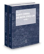 Illinois Criminal and Motor Vehicle Law Pamphlet with CD, 2021 ed.