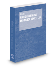 Michigan Criminal and Motor Vehicle Law Pamphlet with CD-ROM, 2017 ed.