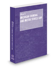 Michigan Criminal and Motor Vehicle Law Pamphlet with CD-ROM, 2018 ed.