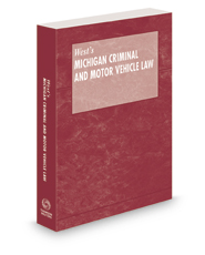 Michigan Criminal and Motor Vehicle Law Pamphlet with CD-ROM, 2020 ed.