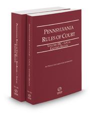 Pennsylvania Rules of Court - Local Eastern and Local Eastern KeyRules, 2016 revised ed. (Vols. IIIC & IIID, Pennsylvania Court Rules)