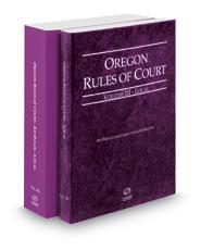 Oregon Rules of Court - Local and Local KeyRules, 2020 ed. (Vols. III & IIIA, Oregon Court Rules)