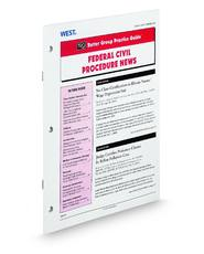 Federal Civil Procedure News (Rutter Group Practice Guide Newsletter)