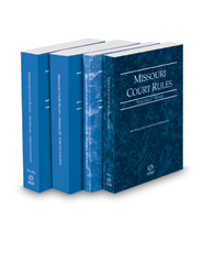 Missouri Court Rules - State, Federal, Circuit and Circuit KeyRules, 2018 ed. (Vols. I-IIIA, Missouri Court Rules)