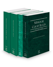 Missouri Court Rules - State, Federal, Circuit and Circuit KeyRules, 2021 ed. (Vols. I-IIIA, Missouri Court Rules)