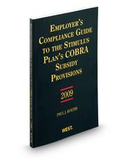 Employer's Compliance Guide to the Stimulus Plan's COBRA Subsidy Provisions