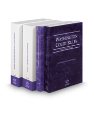 Washington Court Rules - State, Federal, Local and Local KeyRules, 2018 ed. (Vols. I-IIIA, Washington Court Rules)