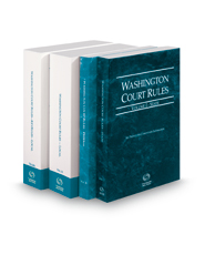 Washington Court Rules - State, Federal, Local and Local KeyRules, 2019 ed. (Vols. I-IIIA, Washington Court Rules)
