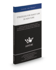 Strategies for Family Law in New York, 2016 ed.: Leading Lawyers on Navigating Changing Family Law Trends, Developing Effective Strategies, and Building Client Relationships (Inside the Minds)