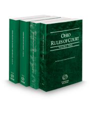 Ohio Rules of Court - State, Federal, Local and Local KeyRules, 2019 ed. (Vols. I-IIIA, Ohio Court Rules)