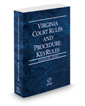 Virginia Court Rules and Procedure - State KeyRules, 2018 ed. (Vol. IA, Virginia Court Rules)