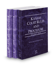 Kansas Court Rules and Procedure - State, Federal and Federal KeyRules, 2018 ed. (Vols. I-IIA, Kansas Court Rules)