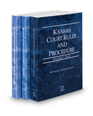 Kansas Court Rules and Procedure - State, Federal and Federal KeyRules, 2019 ed. (Vols. I-IIA, Kansas Court Rules)